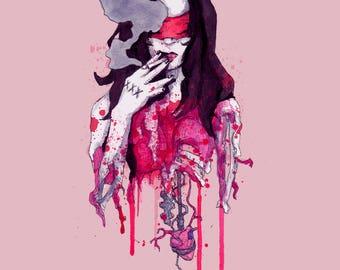 Till Death Do Us Part Fine Art Print