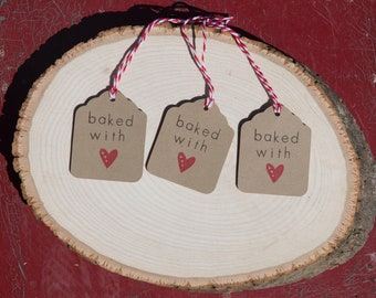 Baked With Love Gift Tag