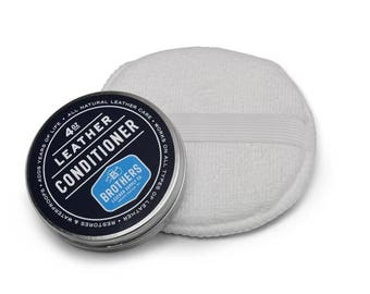 Natural Leather Conditioner // Leather Care
