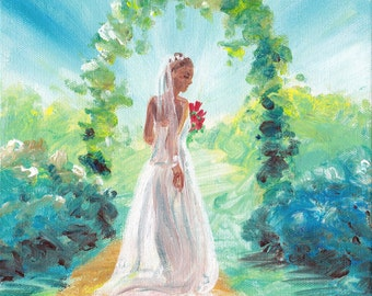 Psalm 45 The Bride - original painting