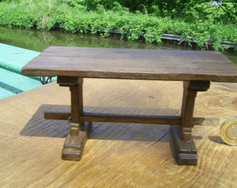 1/12th scale miniature medieval/tudor smaller trestle refectory table