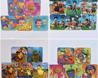 Nickelodeon Bubble Guppies, Paw Patrol, Wonder Pets OR Team Umizoomi Refrigerator Magnets, Birthday Party Favors, Nick Jr. Magnet Free Offer