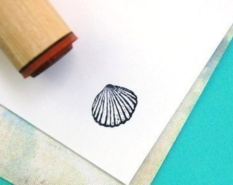 Clam Shell Rubber Stamp
