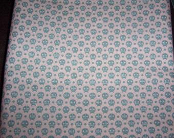 Moda Flutterby Blue Ladybug by Tula Pink 1 FQ