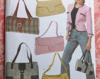 Handbags Sewing Pattern UNCUT Simplicity 4646 handbag purse bag