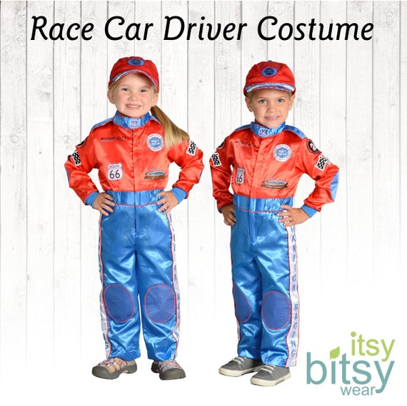 sc 1 st  Etsy : race car driver kids costume  - Germanpascual.Com