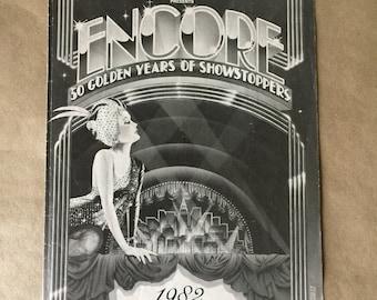 Radio City Music Hall 1982 Golden Jubilee Program