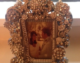Crystalized made to order bedazzled blinged out frames made to order