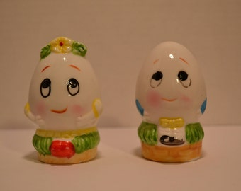 Mr. & Mrs. Humpty Dumpty Egg Shakers