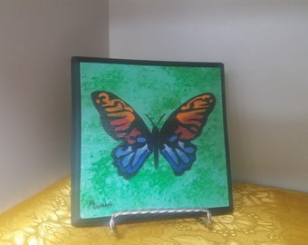 BUTTERFLY, WOOD  , wall decor