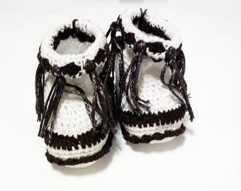 Children's crochet Summer boots