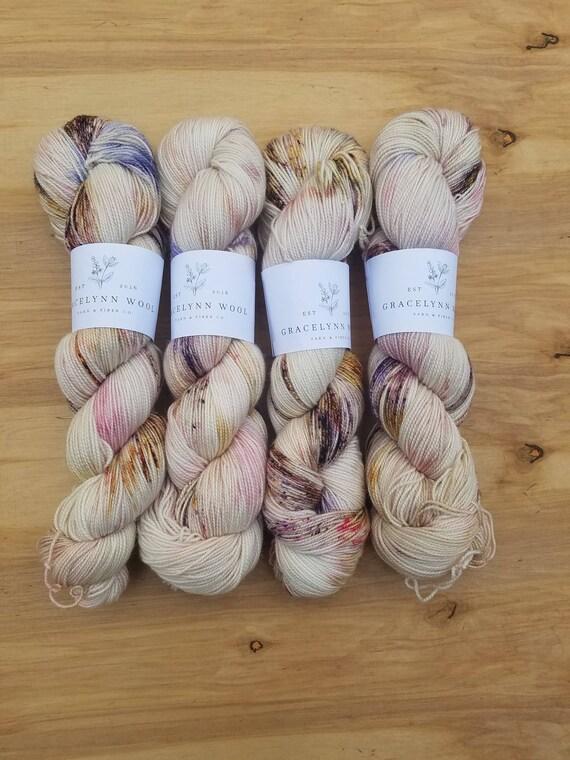 PRE ORDER - Lavender Brown - Eighty Twenty - Superwash Merino Nylon - 400 yards