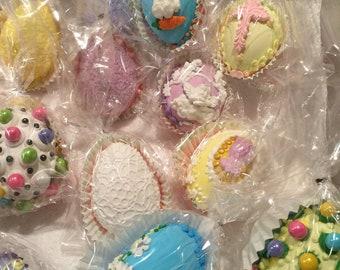 Edible Easter eggs