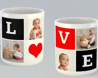 Love Photo Mug - 11 oz.