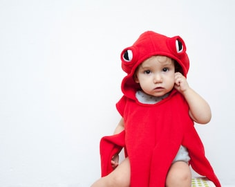 Red Octopus Costume, Octopus Halloween Costume, Party Costume, For Boys or Girls, Toddler Costume