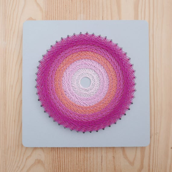 Raum Dekoration Kind rose Mandala eher Tabelle Draht