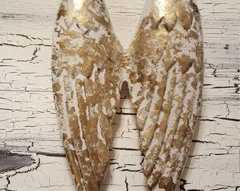 Angel Wings Wall Decor / Metal Angel Wings / Nursery Wall Decor / Spiritual Wall Art / SHABBY CHIC Angel Wings / Guardian Angel/ Angel Wings
