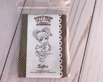 The Greeting Farm Lottie rubber stamp