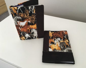 Horse notebook cover set