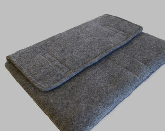 2017 Surface Pro Case, New Surface Pro Case, Surface Book Case, Surface Sleeve, Surface Cover, Surface Pro 2 3 4 RT Case Grey Felt