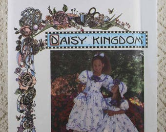 Simplicity 9446, Girls' Dress, Hat, Purse and Hairbow Sewing Pattern, Daisy Kingdom Pattern, Girls' Size 7, 8, 10, 12, Uncut