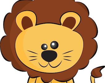 lion clipart etsy rh etsy com lion clipart images lion clipart black and white