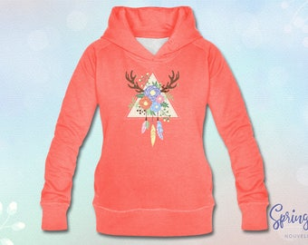 Hoodie Spring Catcher (Coral)