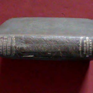 Very rare original antique 1800s book, 1872 German Popular Stories and Fairy Tales told by Gammer Grethel