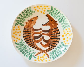 thylacine plate