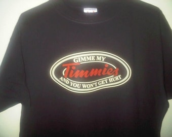 Tim Horton's Parody Shirt