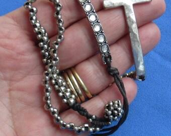 Lot Of Retro Rope & Drawstring Bracelets TLC