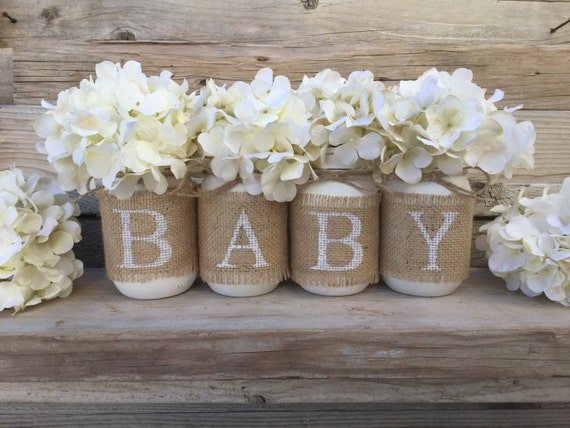 Superior Baby Shower Decor Nursery Decor Rustic Baby Shower Burlap