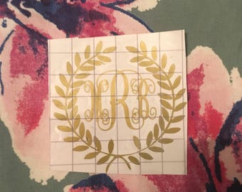 Laurel Wreath Monogram