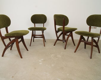 Mid-Century Danish Teak Chairs, 1960, Set of 4