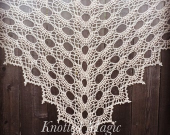 Anti Virus crochet shawl pattern PDF