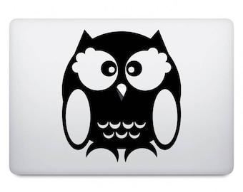 Owl Computer Decal