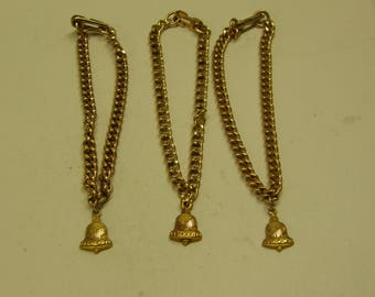 Vintage Michigan Chain Bracelets - 10k Gold Filled