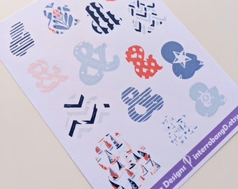 A148 - Ampersand - Planner Stickers