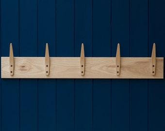 Handmade Wooden Coat Rack