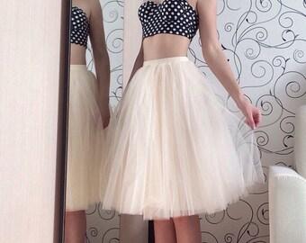 Tulle Skirt/Lined Maxi Skirt/Skirts for Women/Flower Girl/Skirt/Dance/Wedding Skirt/Ball Gown/Wedding/Bridesmaid/Bridal Skirt/Ballet Tutu