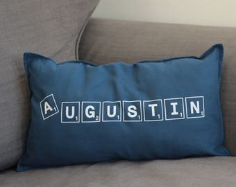 Cushion cover family scrabble version / ON ORDER