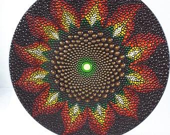 Sunflower sacred geometry