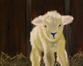 Behold - Oil painting