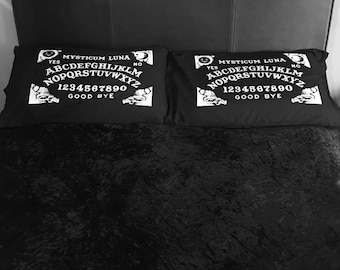 1 x Ouija Board Pillow Case - Spirit Board / Witchcraft