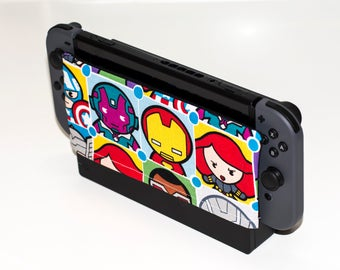 Nintendo Switch Dock Sock, Avengers, Switch Dock Cover, Switch Dock Sock, Dock Sleeve, Nintendo Switch Protector, Switch Accessories