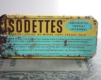 Vintage Isodette Tin