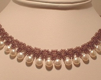 Passionate About Pearls, Necklace Tutorial, Download