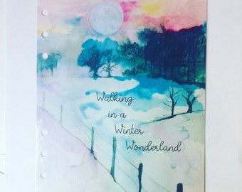 Winter Wonderland dashboard