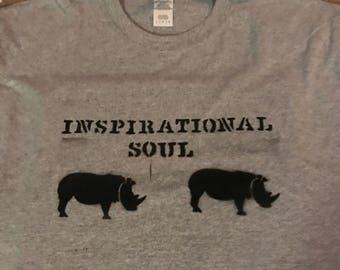 Inspirational Soul Shirt w/Rhino