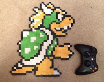 Huge Super Mario Bros. 3 Bowser Pixel Bead Art!